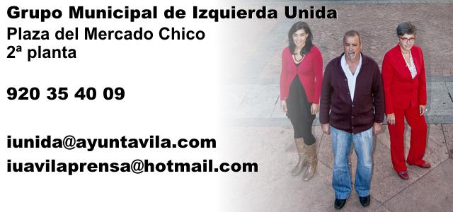 Contacta - Grupo Municipal Izquierda Unida