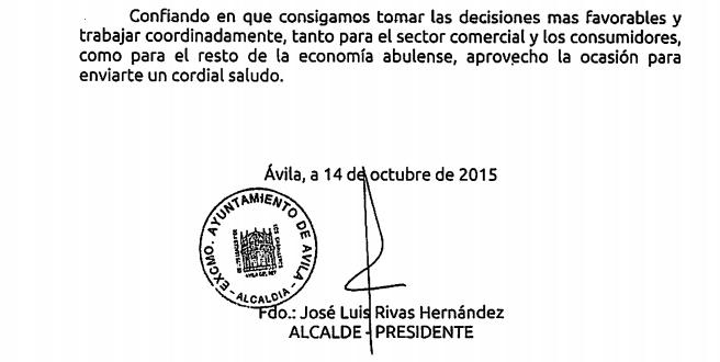 firmado por el alcalde con sello municipal y n mero de