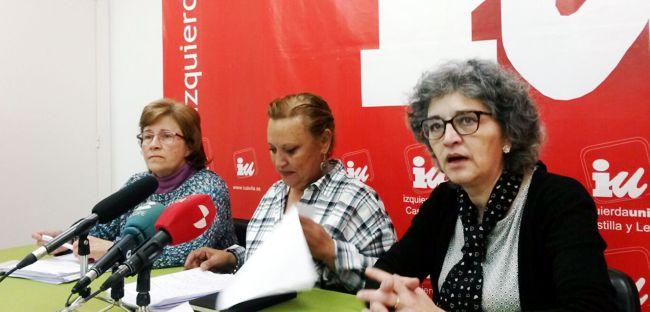 Isabel Casillas, Milagros Hernández y Montserrat Barcenilla